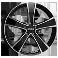 Cerchione - Oxxo Proteus Black 7x16 ET38 LK5x112