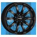 Cerchione - Oxxo Racy Black 8x17 ET30 LK5x120